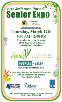 Join Independence at the 2015 Jefferson Parish Senior Expo - Blog